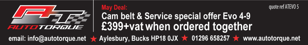 may cambelt service offer evo