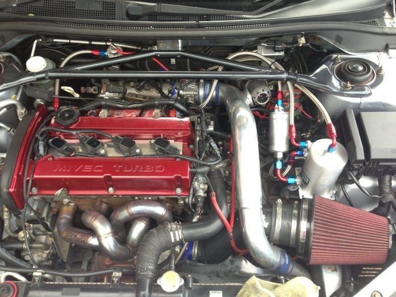 Deans Mitsubishi Evo IX – AT 550bhp project