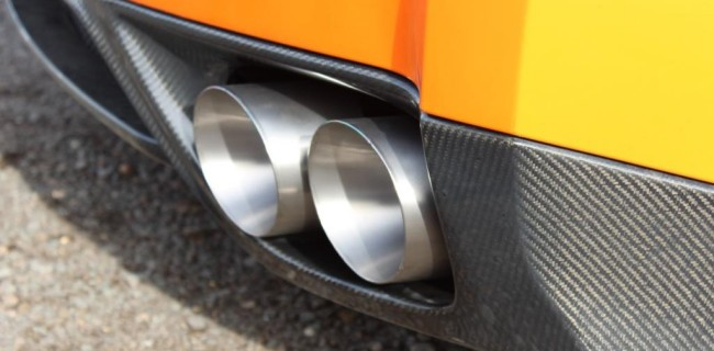 Handmade Titanium exhaust tips - December 2014