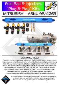 fuel rail 4g63