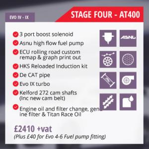 Mitsubishi Evolution tuning Stage 4 Auto Torque EcuTek remap