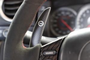 Nissan R35 GTR carbon fibre paddle shift lever Auto Torque