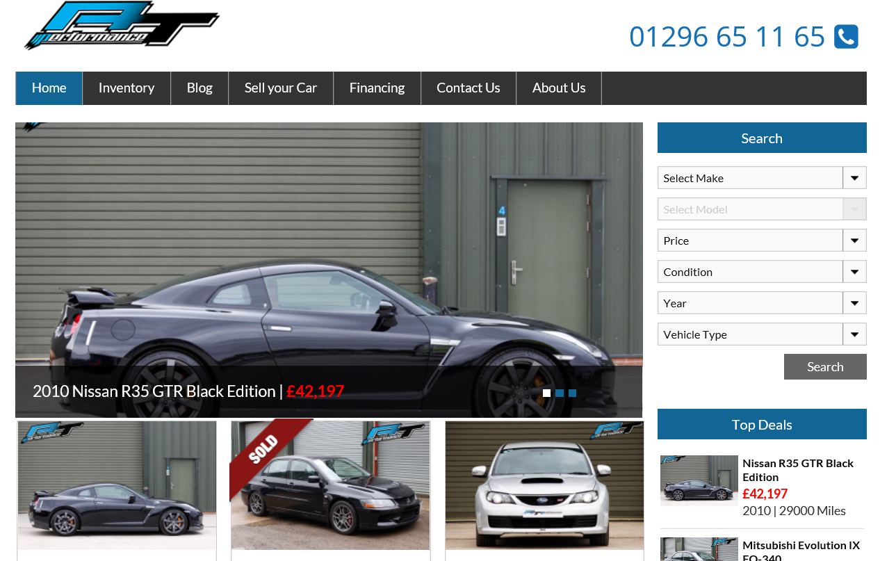 New dedicated car sales company website now launched – Check out AT Performance