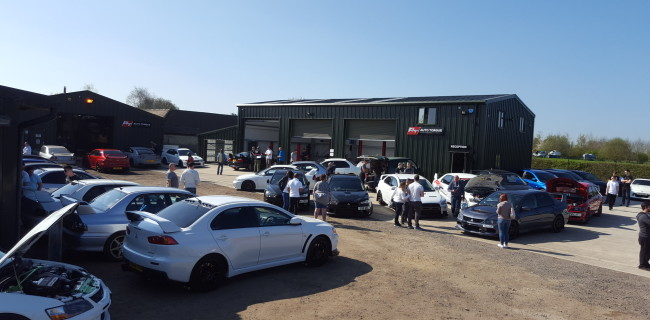 Auto Torue Car meet open morning Boosted Aylesbury Evolution