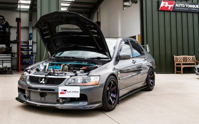 Evo IX Forward Facing Big Turbo Build