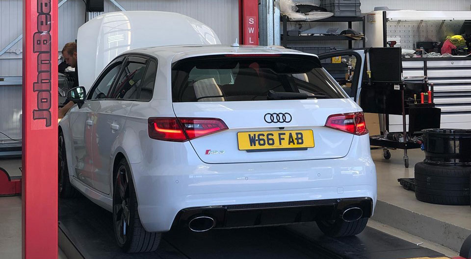 Audi RS3 – Stage 1 Remap