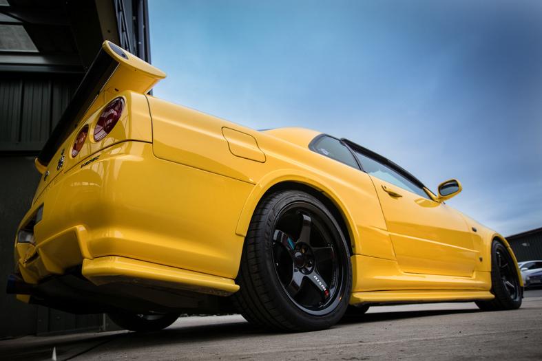 Nissan Skyline R34 GT-R UK V-Spec Restoration Project