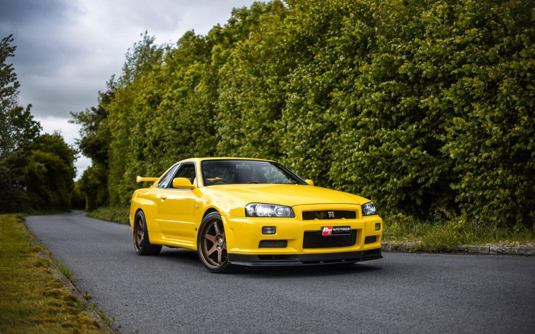Jag's GTR R34 Restoration