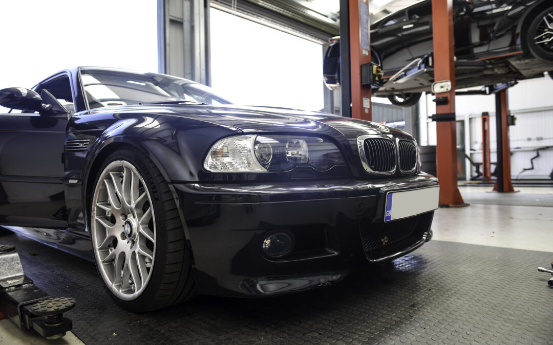 BMW E46 M3 RACP Cracked Boot Floor Repair
